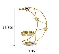economico -portacandele in metallo dorato moderno in stile europeo semplice creativo portacandele xingyue decorazione della casa per le vacanze una spedizione