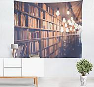 abordables -livre étagère lumière mur tapisserie art décor couverture rideau suspendu maison chambre salon décoration polyester