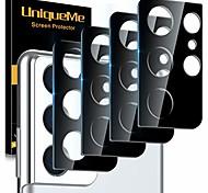 economico -telefono Proteggi Schermo Per Samsung Galaxy S21 S21 Plus S21 Ultra S20 S20 Plus Lega di titanio 4 pezzi Anti-graffi Protezione dell'obiettivo della fotocamera Appendini per cellulare
