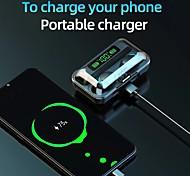economico -LITBest F95 Auricolari wireless Cuffie TWS Senza filo Stereo Doppio driver Banca di potere mobile per Apple Samsung Huawei Xiaomi MI Cellulare