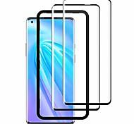 abordables -nomesee pour oneplus 8 verre trempé (2 pièces), [3d ultra-clair] [dureté 9h] [anti-rayures] [avec cadre d'alignement] film protecteur en verre trempé pour oneplus 8