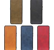 economico -telefono Custodia Per LG Per retro Wing 5G LG G8 LG G8 ThinQ LG K50 Resistente agli urti A prova di sporco Tinta unita pelle sintetica