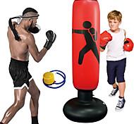 """economico -sacco da boxe sacco da boxe gonfiabile a piedi per bambini& Bicchiere fitness da boxe per adulti da karate fitness per i giovani& adulto al coperto& outdoor 61 """"(pompa aria& adesivi"""
