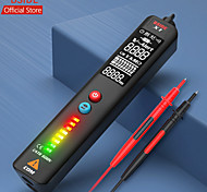 economico -bside x1 2 voltmetro lcd rilevatore di tensione display a 3 righe ncv sensibilità regolabile dual range sensore di tensione ac penna tester