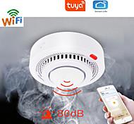 economico -tuya wifi allarme fumo protezione antincendio rilevatore di fumo combinazione affumicatoio allarme antincendio sistema di sicurezza domestica vigili del fuoco