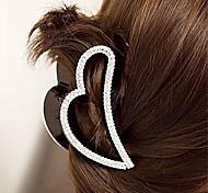 economico -temperamento accessori per capelli coreani versione coreana di strass nero amore clip grande clip di capelli forcina tornante piccoli gioielli copricapo
