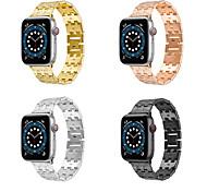 economico -Cinturino intelligente per Apple  iWatch 1 pcs Banda di affari Lega di zinco Sostituzione Custodia con cinturino a strappo per Apple Watch Serie SE / 6/5/4/3/2/1