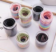 economico -100 sen femminile colore capelli corda coreano elastico per capelli per adulti cravatta femminile carino stile ins accessori per capelli semplici