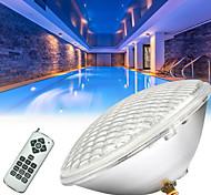 economico -lampada per piscina luci subacquee 1pc 36 w 54 w telecomando rgb 12 v illuminazione esterna cortile piscina 72/108 led perline