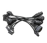 economico -Cavi per camion adattatori a 12 pin per cavi di collegamento per camion tcs set completo 8 cavi per camion per multidiag pro