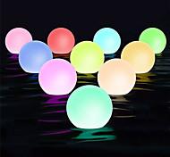 economico -luce esterna 1x 2x 6x ip68 impermeabile rgb led per piscina lampada a sfera galleggiante rgb casa giardino ktv bar festa nuziale decorativa vacanza estiva illuminazione