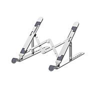 economico -sette livelli di regolazione in altezza supporto per tablet in lega di alluminio per montaggio su staffa pieghevole portatile per laptop