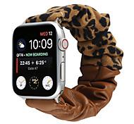 economico -Cinturino intelligente per Apple  iWatch 1 pcs Bracciale stampato Tessuto Similpelle Sostituzione Custodia con cinturino a strappo per Apple Watch Serie SE / 6/5/4/3/2/1