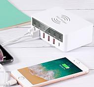 economico -40 W Potenza di uscita USB Caricatore PD Caricatore USB Caricatore senza fili QC 3.0 Caricatore senza fili Ricarica veloce Per Universale