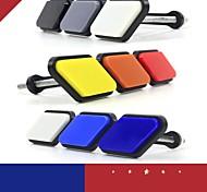 economico -applicabile al logo della rete toyota tacoma 4runner in arrivo, etichetta per auto modificata di piccole dimensioni a tre colori con griglia