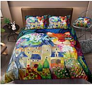 economico -colorato tie dye copripiumino set boho hippie set di biancheria da letto arcobaleno cravatta tinta copripiumino regina 3 pezzi per bambini adolescenti adulti 1