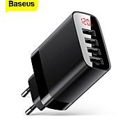 economico -BASEUS 30 W Potenza di uscita USB Caricatore PD Caricatore veloce Caricatore del telefono Caricabatterie portatile Multiuscita Ricarica veloce Per Universale