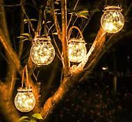 economico -luci solari esterne 6 w luce decorativa luci del prato ha condotto le luci solari post luci impermeabile alimentato solare bianco caldo creativo bianco multi colore 4.5 v illuminazione esterna cortile