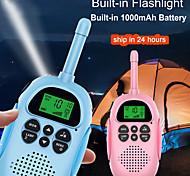 economico -DJ100 Palmare Ompermeabile / Torcia 3 Km - 5 Km 3 Km - 5 Km Ricetrasmittente Radio bidirezionale