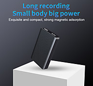 economico -registratore magnetico ad attivazione vocale mini registratore vocale digitale piccoli dispositivi di registrazione audio 300 ore di registrazione continua lettore mp3 per conferenze riunioni interviste