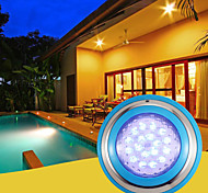 economico -luci subacquee lampada sommergibile 18w 36w 54w impermeabile bianco caldo rgb bianco 12v illuminazione esterna piscina cortile 72-90-108 perline led