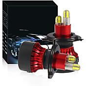 economico -otolampara kit faro led 200w super luminoso h4 lampadina alogena dimensioni ip68 faro auto impermeabile h1 h7 h11 hb3 hb4 colore bianco 2 pezzi