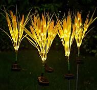 economico -Lampada Da Esterno A LED Impermeabile Solare A Orecchio Di Grano Cortile Da Giardino Decorazione Da Cortile Luce Notturna Percorso Prato Lampada Da Paesaggio A Led
