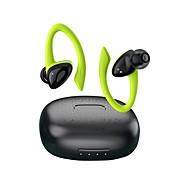 economico -D10 Auricolari wireless Cuffie TWS Bluetooth 5.1 Design ergonomico Uncino per contor HIFI per Apple Samsung Huawei Xiaomi MI Sport Fitness Cellulare