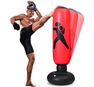 economico -sacco da boxe per bambini con supporto, sacco da boxe gonfiabile per pratica boxe per ragazzi a casa e rilascio di energia per adulti