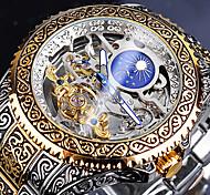 economico -FORSINING Per uomo orologio meccanico Analogico Carica automatica Casuale Orologi con incisioni Nottilucente / Due anni
