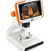 economico -Studenti di microscopio digitale da 5 pollici 200 volte educativi scientifici popolari