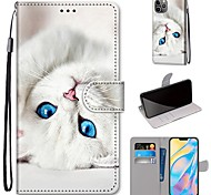 economico -telefono Custodia Per Apple Integrale iPhone 12 Pro Max 11 SE 2020 X XR XS Max 8 7 6 iPhone 6s / 6 A portafoglio Resistente agli urti A prova di sporco Paesaggi Animali TPU