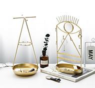 economico -Espositore per gioielli in ferro dorato