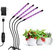 economico -led coltiva le luci lampada crescente 10w 20w 30w con spina per piante da tavolo home office verdura serra 20-40-60-80 perline led 1 set