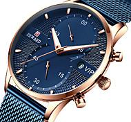 economico -ricompensa orologio da uomo sportivo orologio casual nuovo cronografo a 5 pin