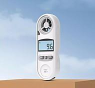 abordables -Duka am-1 anémomètre numérique 0.3-30 m / s compteur de vitesse du vent-10 45c testeur de température anémomètre avec affichage de rétroéclairage LCD