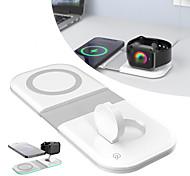 abordables -Sortie d'usine 15 W Puissance de sortie USB Chargeur de portable Chargeur Sans Fil Portable Pliable Sorties Multiples CE Pour Mobile Smart Watch