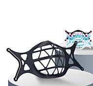 abordables -5 pièces porte-masque jetable doublure en silicone stéréo 3D coussin intérieur anti-rembourrage respirant antiadhésif cadre de support de rouge à lèvres