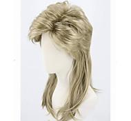 economico -parrucca per costume di halloween per adulti anni '70 e '80 parrucca swing dudd parrucca da discoteca punk metal rocker