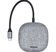 economico -BASEUS Con lettore di schede (s) OTG CAHUB-DX0G USB 3.0 USB C a HDMI 2.0 USB 3.0 USB 3.0 USB C RJ45 scheda SD Scheda TF Hub USB 7 Porti Per Windows, PC, laptop