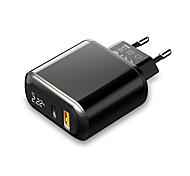 economico -MCDODO 20 W Potenza di uscita USB Caricatore PD Caricatore veloce Caricatore GaN Caricabatterie portatile Per Universale