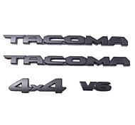 economico -Il logo dell'auto coperto di tacoma è adatto per il set di etichette tridimensionali toyota tacoma 3d v6 4x4 sr5