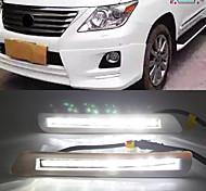 economico -otolampara car factory led drl for toyota lexus lx 570 led daytime running light lampadine 10w waterproof high lightness fog drl bulbs 2pcs