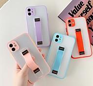economico -telefono Custodia Per Apple Per retro iPhone 12 Pro Max 11 Pro Max Resistente agli urti A prova di sporco Con supporto Transparente TPU