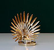 economico -portacandele creativo in metallo dorato portacandele portacandele in stile arabo del medio oriente decorazione da tavolo consegna in un pezzo