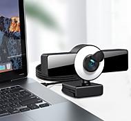 economico -webcam 8809 mini webcam per computer laptop con microfono messa a fuoco automatica anello luce video webcam 1080p 2k trasmissione in diretta web cam versione 1k