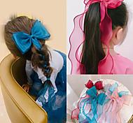abordables -coiffe de noeud papillon fille coréenne, super fée princesse enfant, version coréenne de la corde à cheveux tressés, marée, style occidental, ruban, banderole, cheveux fleur