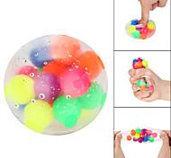 economico -5 pz colore non tossico giocattolo sensoriale ufficio palla antistress pressione palla antistress giocattolo decompressione giocattolo agitarsi regalo antistress