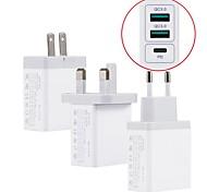 economico -30 W Potenza di uscita USB Caricatore veloce Caricatore del telefono Caricabatterie portatile Per Universale