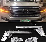 abordables -otolampara voiture led clignotants lumières ampoules smd led 20 w 2 pour toyota 2018/2016/2017 2 pièces